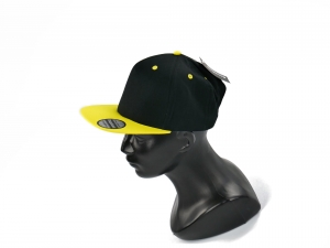 CHILDREN'S FULL CAP BLACK YELLOW