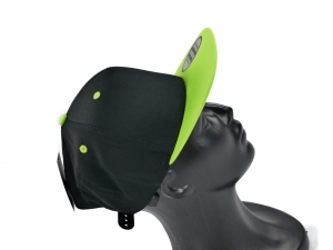 CHILDREN'S FULL CAP BLACK GREEN