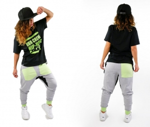 CHILDREN'S HIP HOP SWEATPANTS WITH LOWERED CROTCH WITH CAMOUFLAGE DETAILS (1)